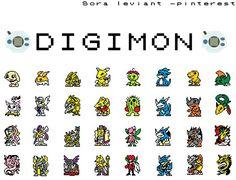 // rp thingy base on my head // Digimon adventure  evolution line Tailmon , patamon, armadimon,palmon,veemon,agumon,betamon - mega evolutions digivice sprite