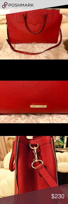 ❤️Rebecca Mincoff Red Satchel NOWT ❤️ Rebecca Mincoff Red Satchel NOWT Rebecca Minkoff Bags Satchels