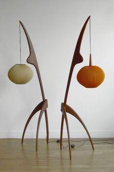 Eames: 1950 FLOORLAMPS. @Deidra Brocké Wallace