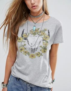 Image 3 - Denim & Supply by Ralph Lauren - T-shirt à imprimé marguerites et…