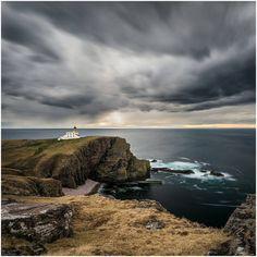 Stoer Lighthouse, Stoer Head, Scotland.