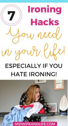 Do you hate ironing? Looking for hacks to make it easier? Or perhaps just the right iron will be a start. Check out these 7 ironing hacks that you absolutely need in your life, especially if you hate ironing. First Time Parents, How To Iron Clothes, Internet, Third Baby, Baby Hacks, Baby Tips, Pregnancy Tips, Baby Sleep, New Moms