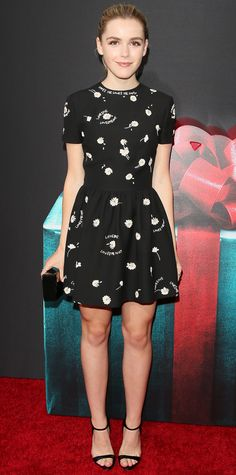 """Look of the Day - July 31, 2015 - STX Entertainment's """"The Gift"""" Los Angeles Premiere - Arrivals from #InStyle"""