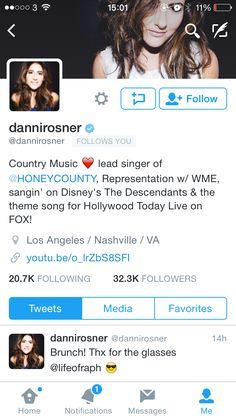 Danni rosner follows