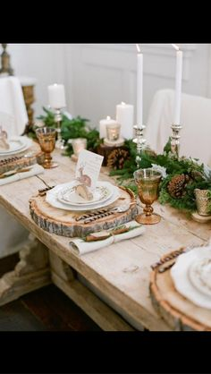 30 Spectacular Winter Wedding Table Setting Ideas