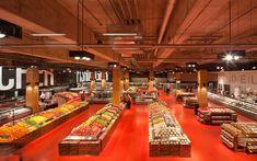 Open department layout, Good Flow. - Loblaws Maple Leaf Gardens