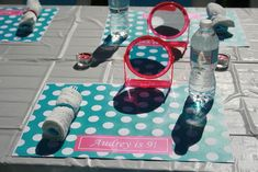 Spa Party! (I know this is actually for a little girl, but this would be cute for a bachelorette party too!!