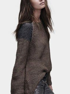 Round Neck Long Sleeves Jumper