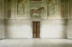 luigi ghirri / palazzo del te Creative Photography, Fine Art Photography, Luigi, Joe Colombo, Italy Street, Berenice Abbott, Contemporary Photography, Italian Artist, Lion Sculpture