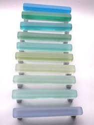 Beach Decor Sea Glass Cabinet Knobs Drawer Pulls | Drawers, Beach ...