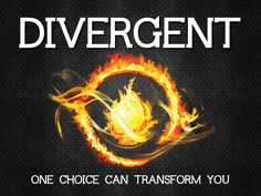 Divergent ONE CHOICE CAN TRANSFORM YOU best books EVER❤️❤️❤️