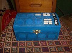 doctor who police box paint crafty_tardis: Dalek, Skateboad and...stuff