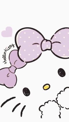 Image in Hello kitty collection by ป่านแก้ว on We Heart It Sanrio Wallpaper, Kawaii Wallpaper, Cute Wallpaper Backgrounds, Wallpaper Iphone Cute, Cute Cartoon Wallpapers, Hello Kitty Tattoos, Hello Kitty Art, Hello Kitty Themes, Hello Kitty My Melody