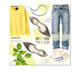 Cool Comfort by mycherryblossom on Polyvore featuring H&M and Seychelles
