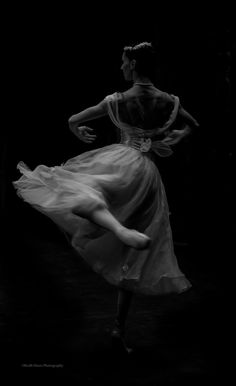☾ Midnight Dreams ☽ dreamy  dramatic black and white photography - Monica Loughman Ballet