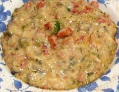 use half a cap of liquid zatarains crab boil instead of the rotel in this,its much better like that,and serve it on rice