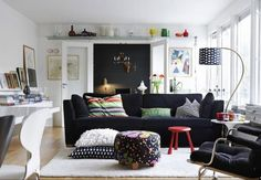 Use light colors on the walls and the floor. | 19 Foolproof Ways To Make A Small Space Feel So Much Bigger