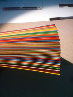 #paper art #poems #colorful papers #colors #rainbow #handmade #love #art