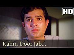Kahin Door Jab Din - Rajesh Khanna - Amitabh Bachchan - Anand Songs - Mukesh - YouTube