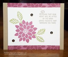 Card Creations by Beth: Keeping It Simple with Flourishing Phrases & A Special Offer