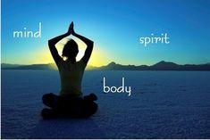 Espírito, mente e corpo!