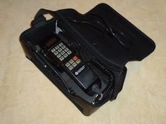 This was my first Car phone. I thought I was pretty cool!