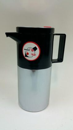 For Sale: Vintage Dr Zimmermann Chrome Thermos Coffee Carafe West Germany Western