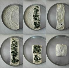 Zaatar, ένα φανταστικό επίπεδο ψωμί από την Παλαιστίνη -idiva.gr Cheese Pies, Food And Drink, Plates, Vegan, Cooking, Tableware, Tarts, Pizza, Workout