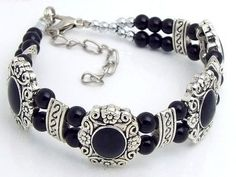 TS101 Tibetan Silver HANDMADE black bracelet.. Normally retails for around $25 each - my selling price (including postage within Australia) is $15.00 each... Please feel free to contact me if your require price for postage overseas…