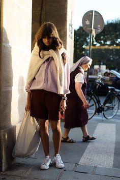 sartorial:  On the Street…..Rue de Rivoli, Paris...