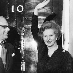 On This Day 1983:Margaret Thatcher is elected for a second term as United Kingdoms Prime Minister with the most decisive election victory since that of the Party Labour in 1945.   Photo: SSPL/Getty Images