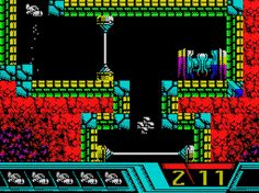 Indie Retro News: Vallation Escape the pirate planet - C64 compo edition gets a ZX Spectrum remake release