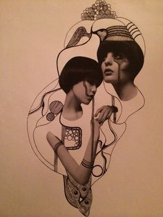 Collage by Justine Eikås | justine-eikaas.com #collage #art #illustration