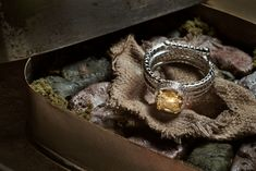 #Indiana #Jones Engagement Ring - that's a coiled whip! (Geeky Ring Engagement Collection)