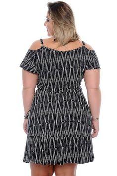 Vestido Plus Size Graciete Plus Sise, Cold Shoulder Dress, Sexy, Dresses, Fashion, Big Sizes, Online Shopping, Stylish Dresses, Women's Clothes