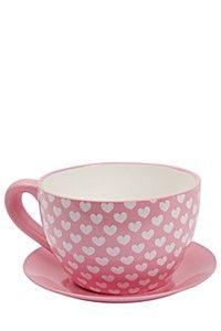 DECORATIVE TEA CUP