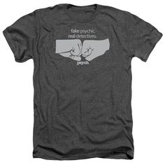 """Checkout our #LicensedGear products FREE SHIPPING + 10% OFF Coupon Code """"Official"""" Psych / Fist Bump - Adult Heather - Psych / Fist Bump - Adult Heather - Price: $34.99. Buy now at https://officiallylicensedgear.com/psych-fist-bump-adult-heather"""