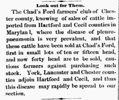 Genealogical Gems: On This Day: Farmers cautioned on diseased cattle