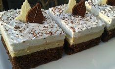 Řezy s kávovou chutí – U Miládky v kuchyni Nutella, Yummy Treats, Tiramisu, Feta, Sweet Tooth, Cheesecake, Deserts, Food And Drink, Pudding
