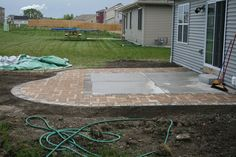 How To Install Pavers Over Existing Concrete Patio And