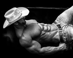 Relaxed Cowboy Muscle by BigBergMan on DeviantArt