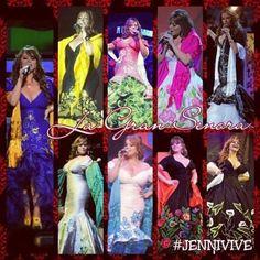 Jenni In her Beautiful Dresses..