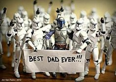 A little Father's Day Star Wars humor!