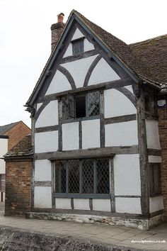 Tudor Facade english tudor exterior paint colors | found on hookedonhouses