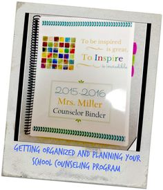 The Middle School Counselor: My 2015-2016 School Counselor Binder and School Counseling Program