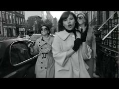 The Brooklyn-based band, Deidre & the Dark brings us back to another era with a seriously sixties vibe. Their vid features adorable retro fashions, French New Wave influences, and a vintage-loving lifestyle that we can totally relate to — not to mention darling dance moves! #listen #now