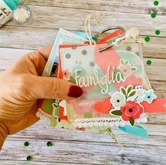 Progetto della Guest Designer Doriana Ferrara per la #thejanuarychallenge2020 #minialbum Ferrari, Deer, Blog, Challenge, Scrapbooking, Album, Christmas Ornaments, Holiday Decor, Design