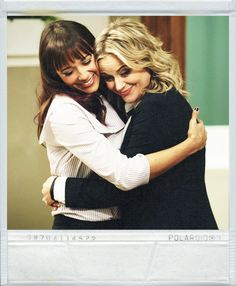 Best friends Anne and Leslie from the tvshow Parks and Recreations.. #Poloroid #ParksandRecreations #tvshow