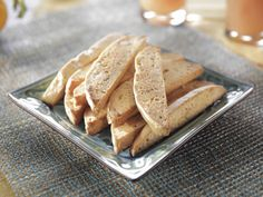 Nutty Orange Biscotti recipe from Trisha Yearwood via Food Network