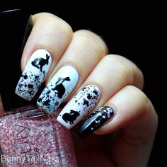 BunnyTailNails: Bunny Up or Eat More Chocolate!
